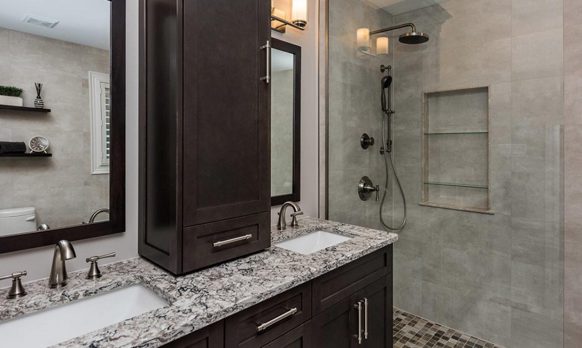 Gillespie bathroom project | Infinite Design And Interiors